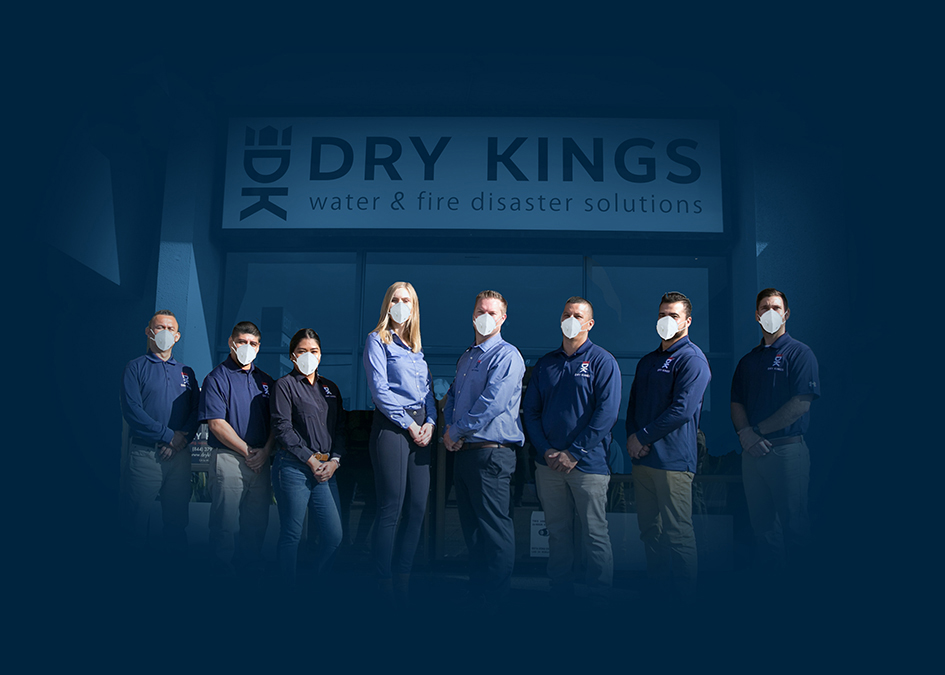 Dry Kings Team With Protection Gear